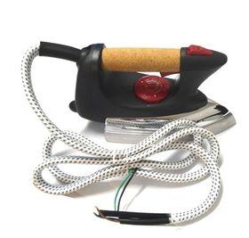 Ferro di ricambio per stirelle pulsante vapore con tasto blocco 230V 800W XL426
