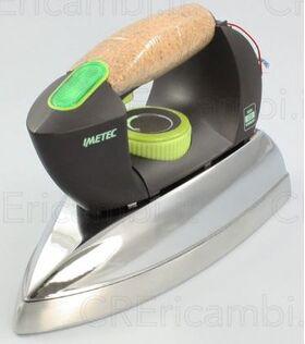 Impugnatura e piastra con termofusibile, per sistema stirante Compact IMETEC. FA3070           Imetec